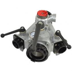 32K 3 Way Manifold Stz Out x Stz In x (2) Male Out