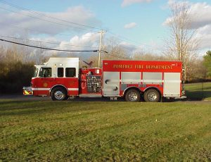 Tanker/Pumper on a Custom Chassis
