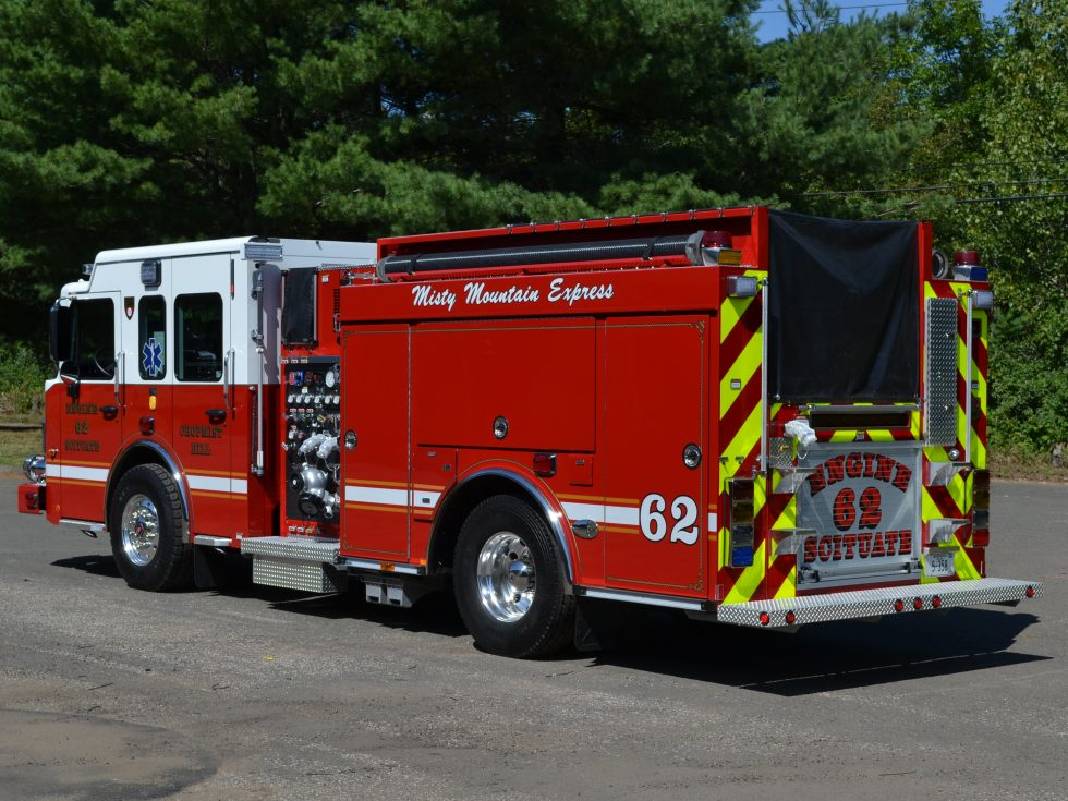 Pumper on a custom chassis