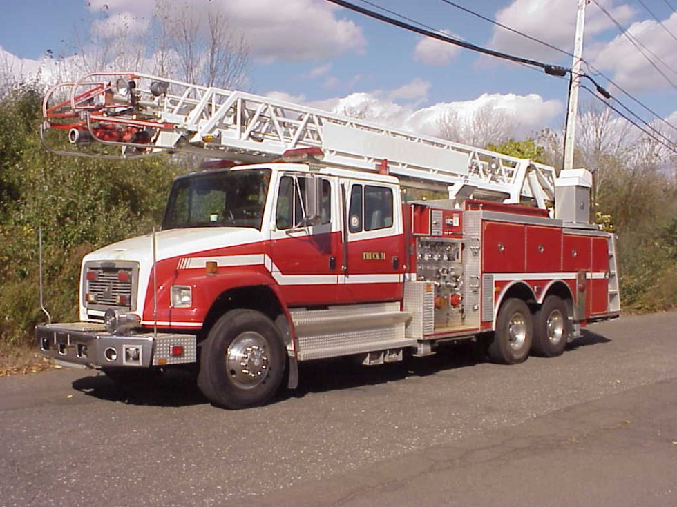 1996 Smeal 75′ HD aerial