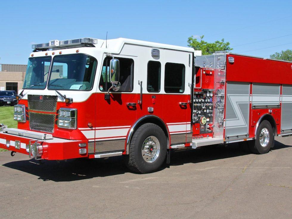 Custom Side Rescue Pumper