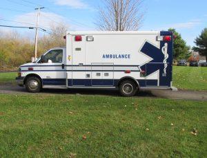 2011 Chevy G4500 ambulance