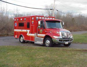 Titan ambulance on 4300 chassis