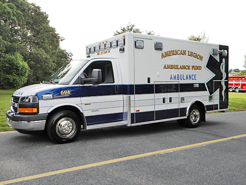 Type 3 Medallion Ambulance on GMC Chassis