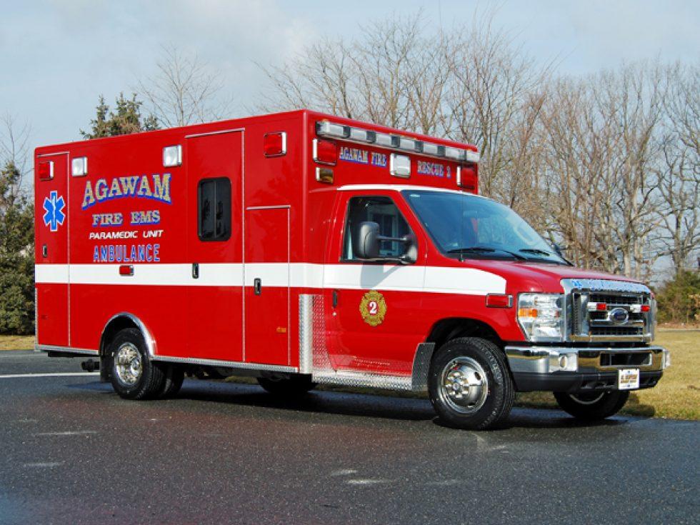 Type 3 ambulance Remount