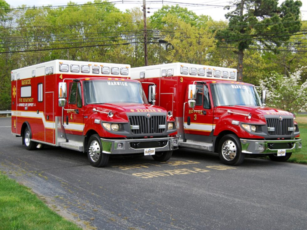 Type I – Titan ambulance on a Terrastar Chassis | New Fire