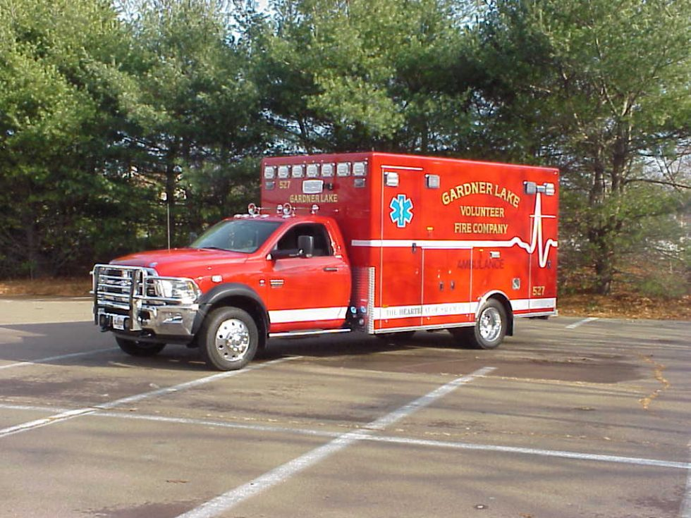 Type 1 – Classic ambulance on a Dodge 5500 chassis