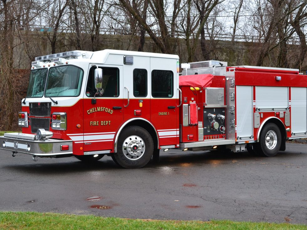 Custom Pumper on a Smeal Sirius Chassis