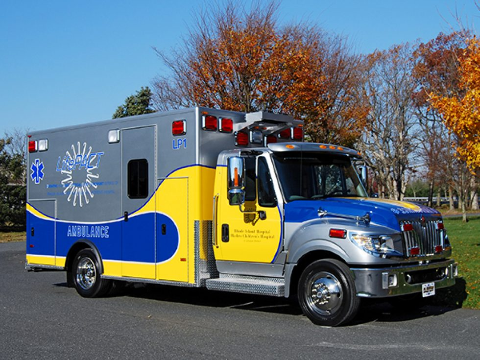 Titan medium duty ambulance on a Terrastar chassis