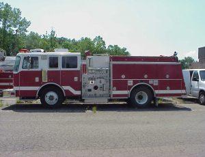1995 KME Pumper