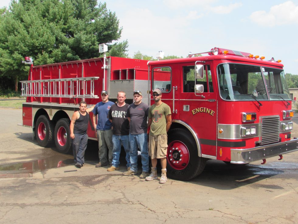 Used pumper tanker