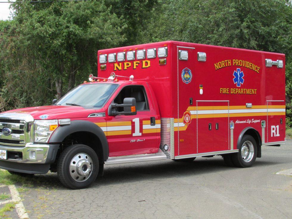 Classic ambulance on a F450