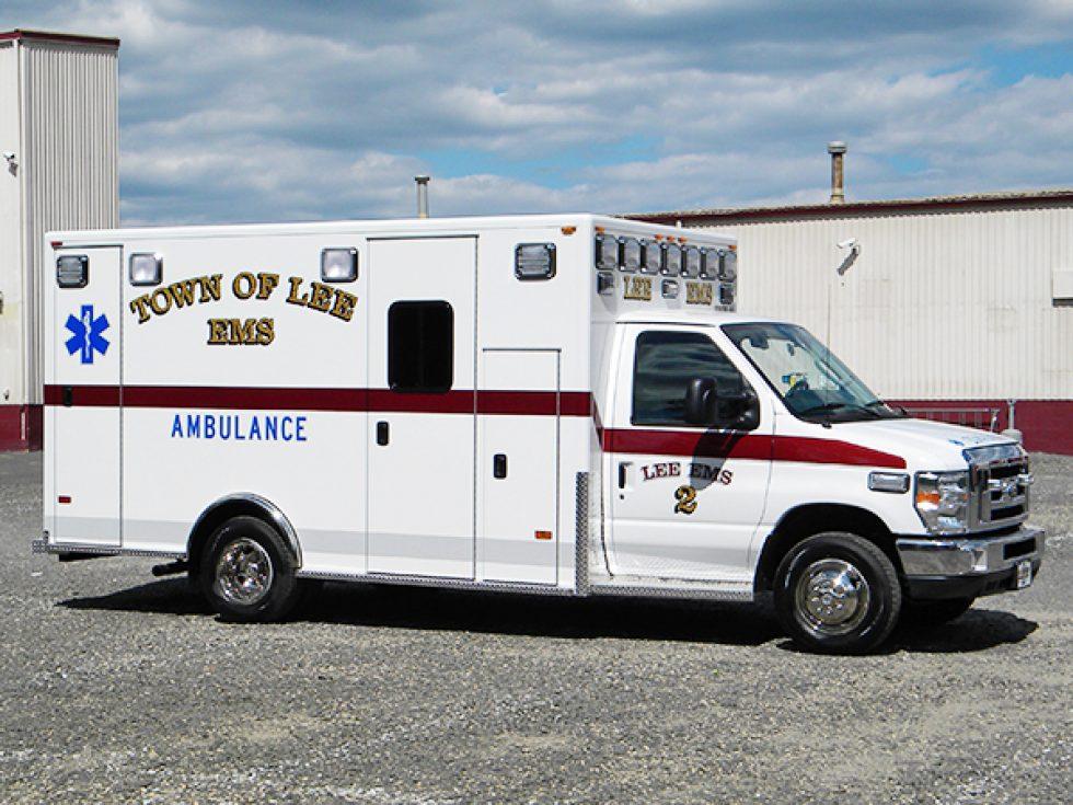 Type 3 Medallion Ambulance On Ford E