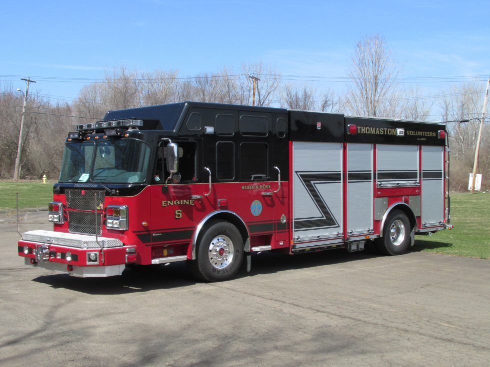 Rescue pumper on a custom chassis