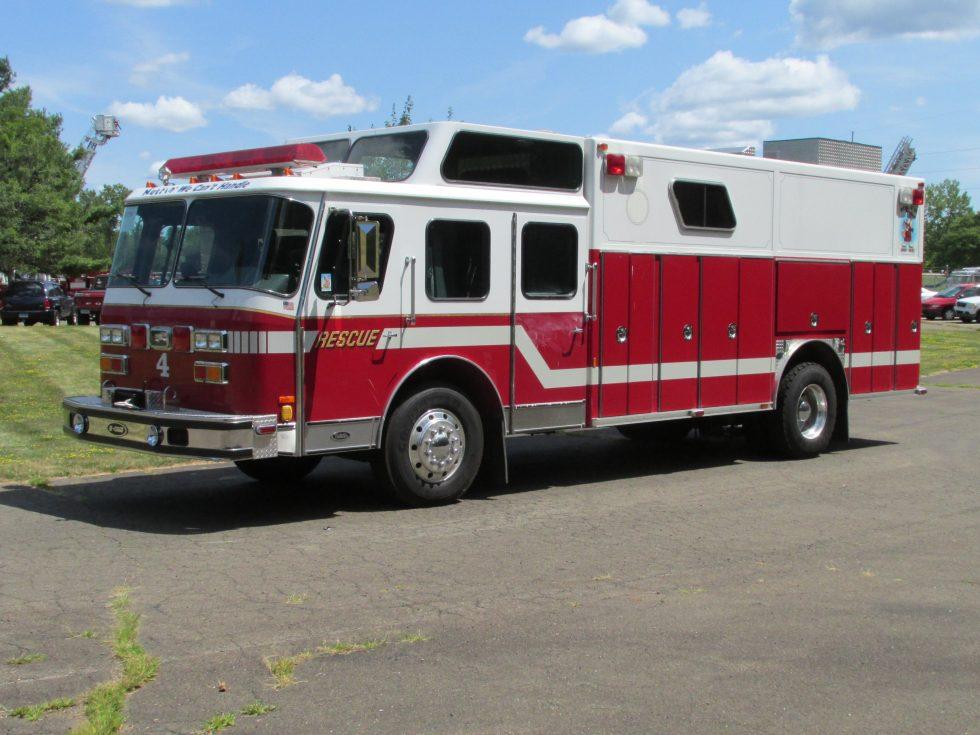 1991 E-One Walk-in Rescue