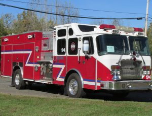 2005 E-one Pumper