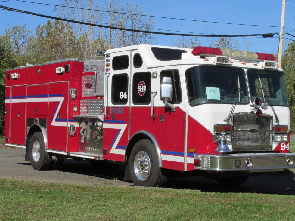 2005 E-one Pumper