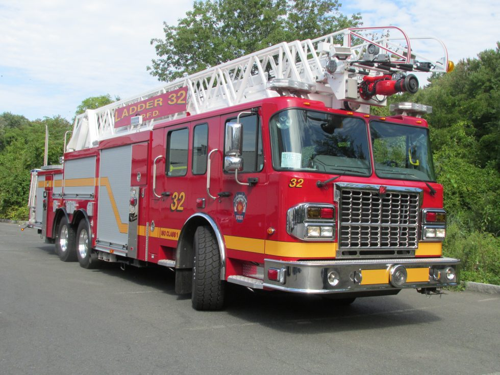 105′ Aerial on a Spartan Chassis