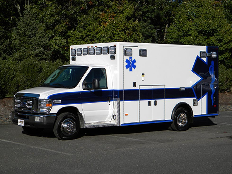 Type 3 Medallion Ambulance on Ford E-450