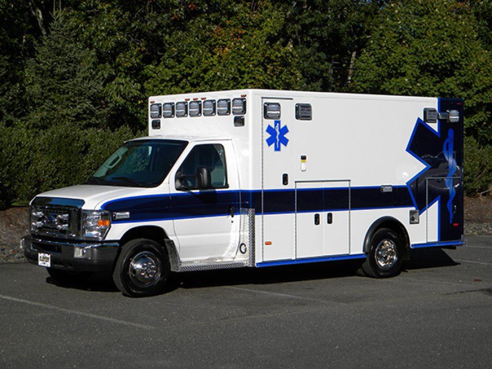 Type 3 Medallion Ambulance on Ford E-450
