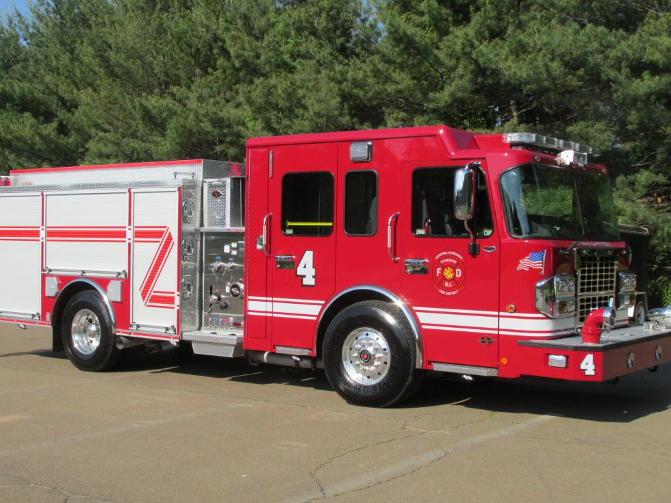 Side mount pumper S-180 on a Custom Chassis
