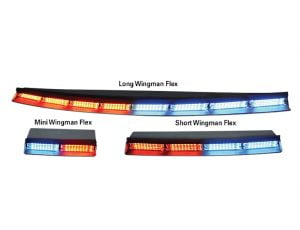 Code 3 Wingman Flex Deck Window Lights