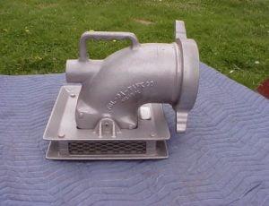 Fol Da Tank Aluminum Low Flow Strainer