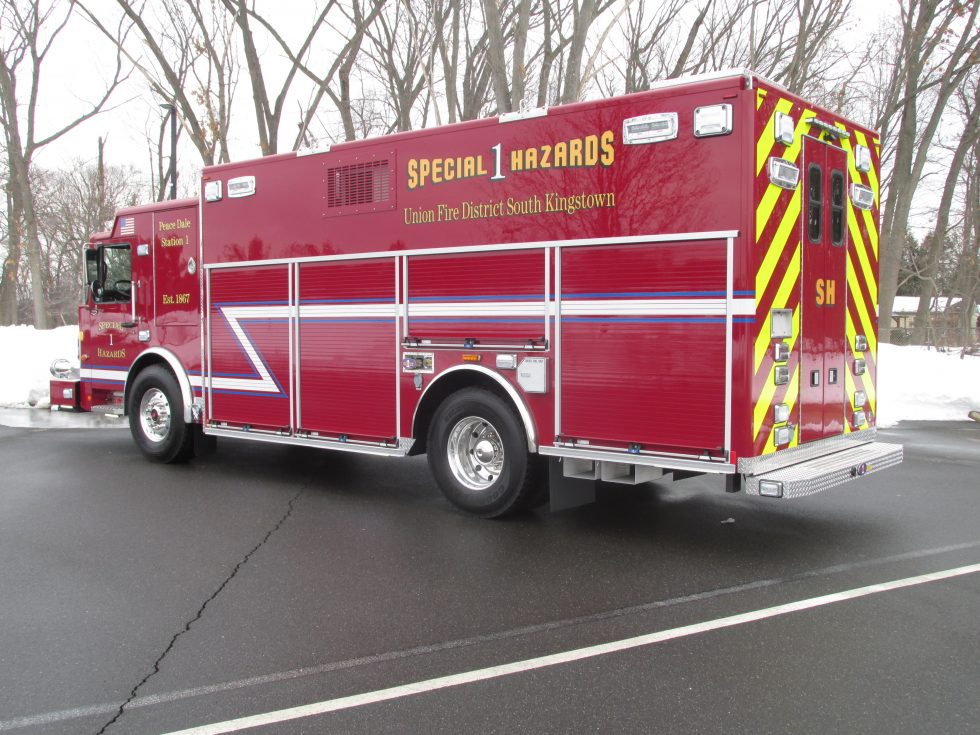 WALK IN RESCUE ON A SPARTAN LTD CHASSIS