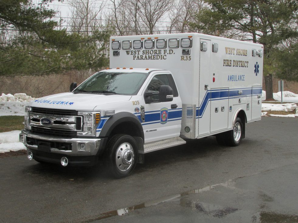 Type 1 Classic remount on a Ford F-550 Chassis