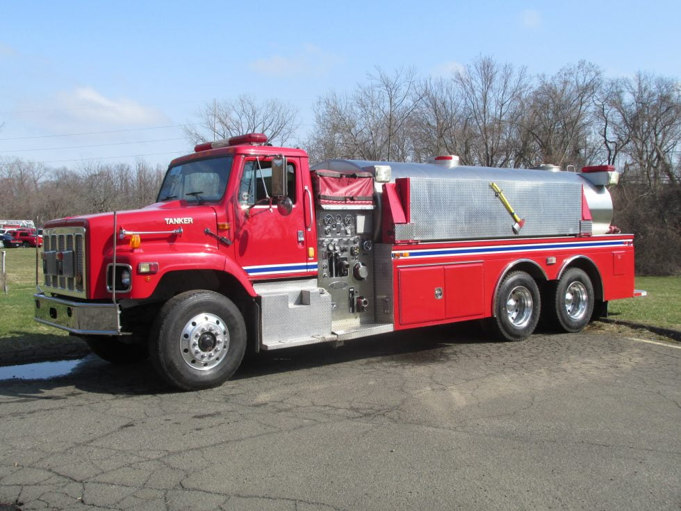 3500 Gallon Tanker