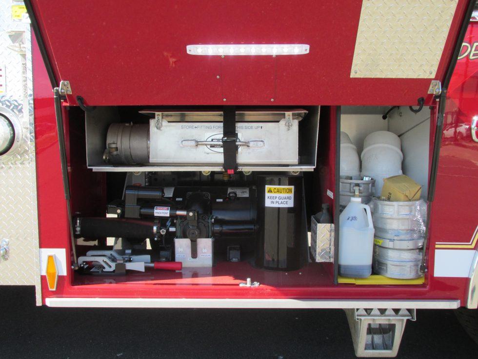 Firovac 2250 Gallon Tanker on a FL 114SD Chassis