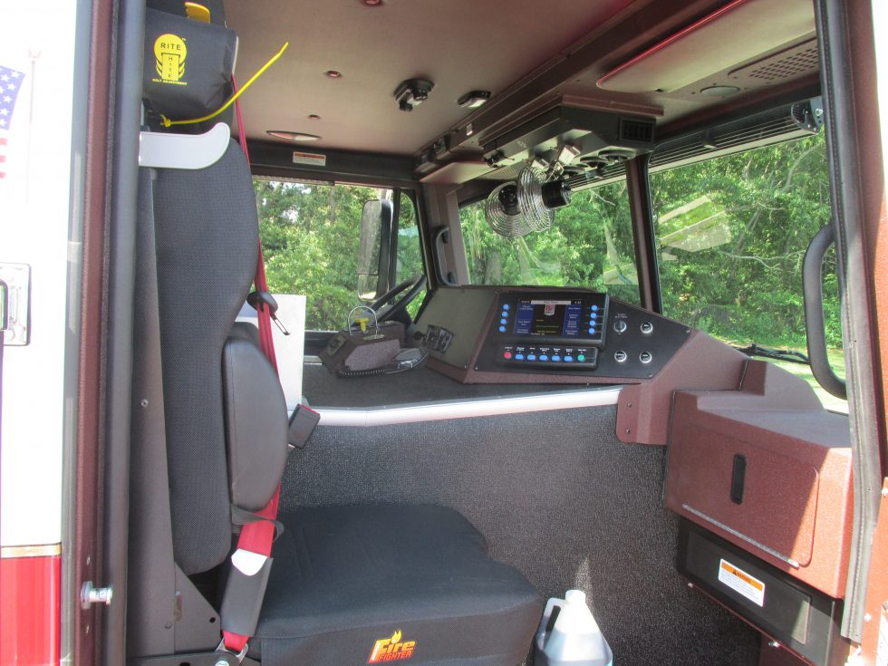 Side mount Low Profile pumper on a Custom Chassis