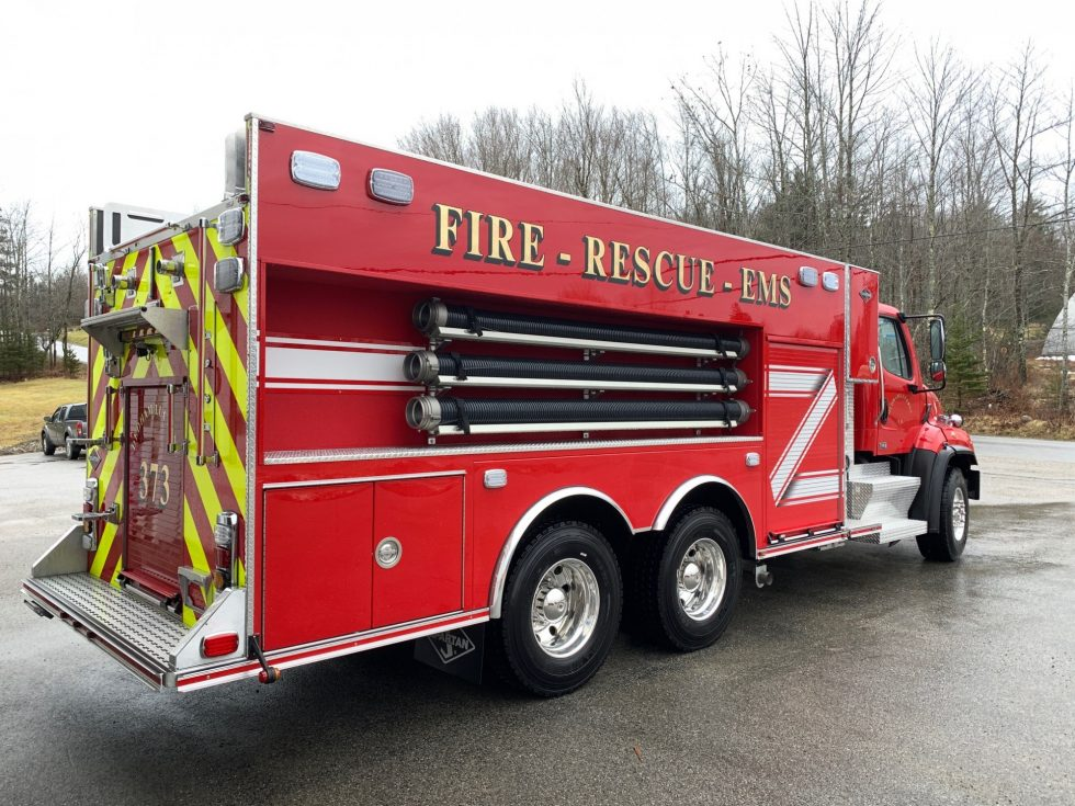 2500 Gallon Tanker on FL-114 Chassis