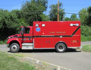 2012 IHC PL Custom Titan ambulance