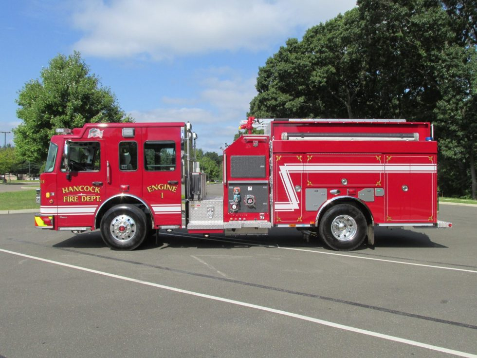Top Mount Pumper on a Custom Chassis