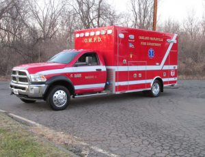 2019 Ambulance on a Dodge 5500 Chassis