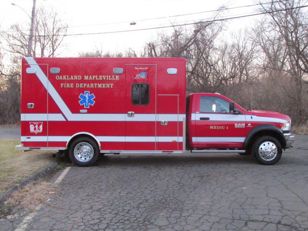 2019 Ambulance on a Dodge 5500 Chassis