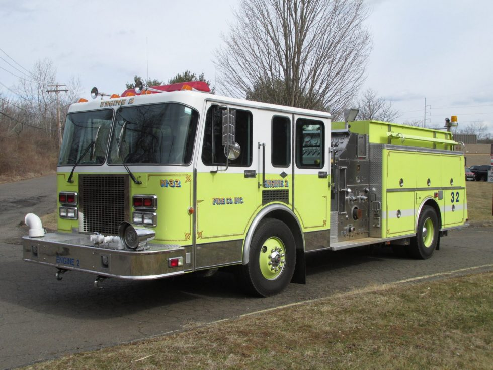 1991 Spartan Pumper – Donation