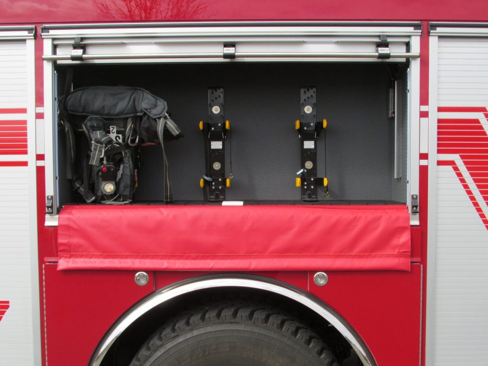 1000 Gallon Pumper on a Spartan Chassis