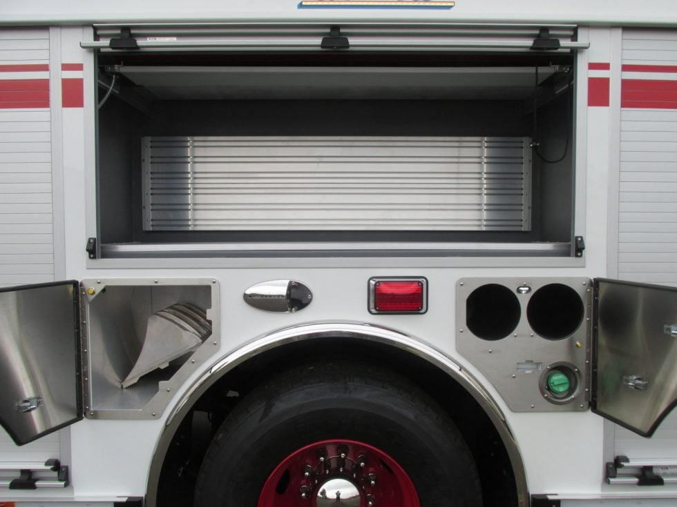 Custom pumper on a Spartan Metro Star Chassis