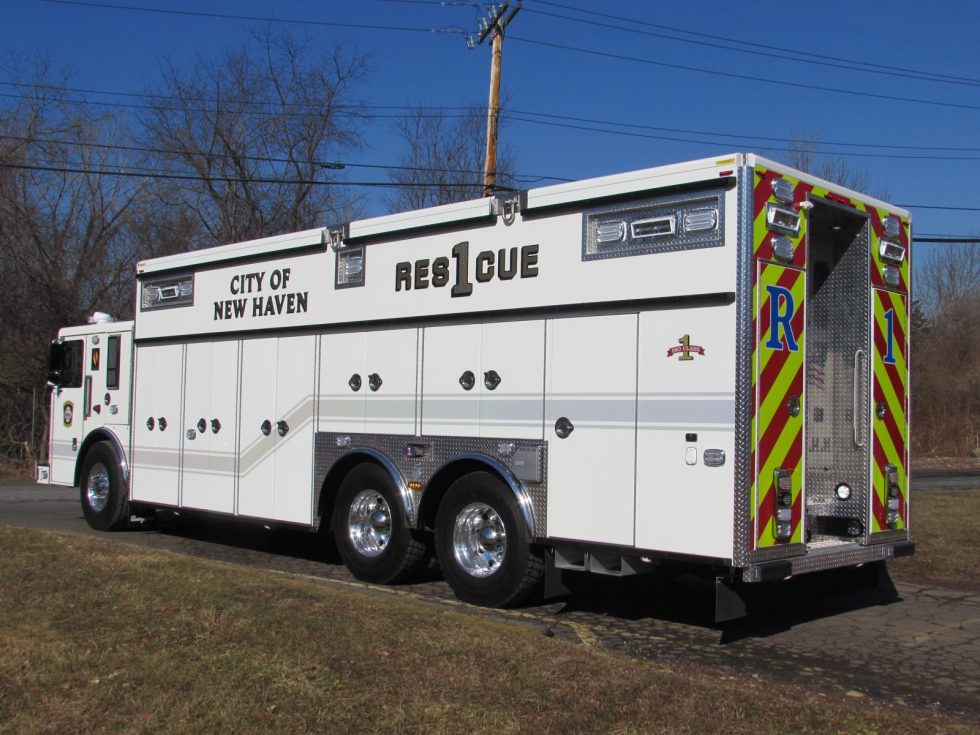 WALK IN RESCUE ON A CUSTOM CHASSIS