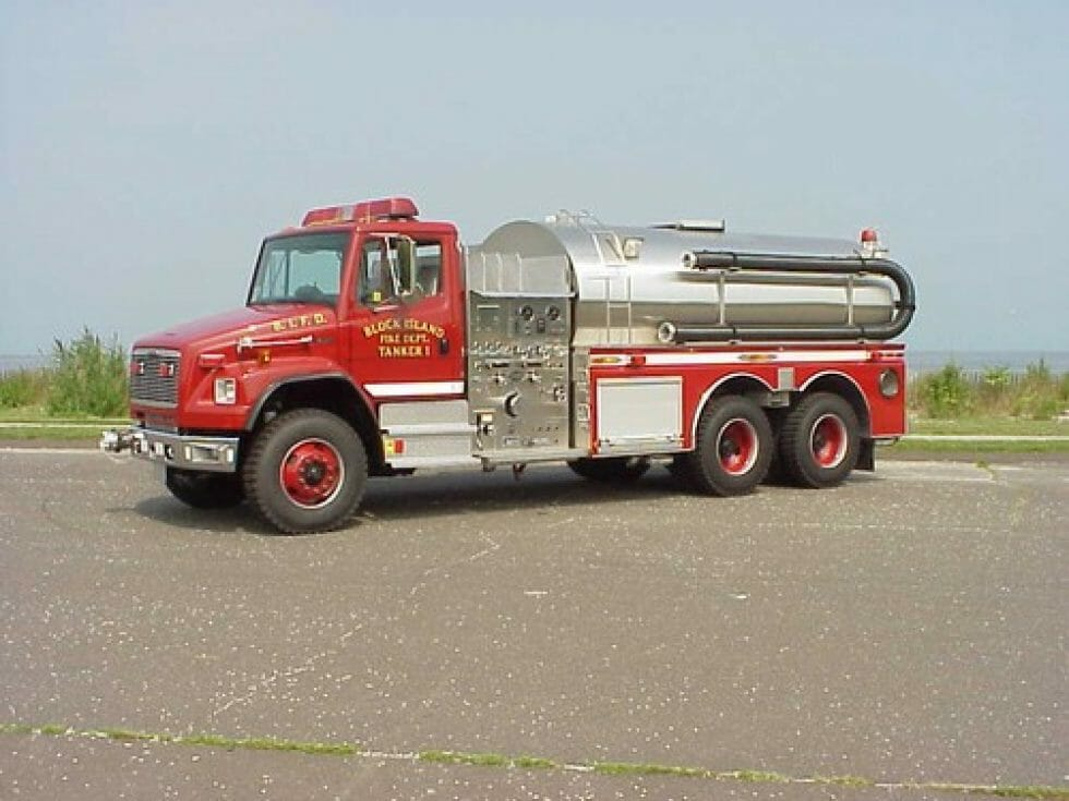 Side mount tanker