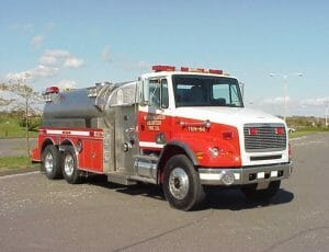 Side mount tanker